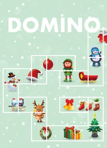 "Printējama galda spēle ""Domino"" un ""Domino Puzle"""