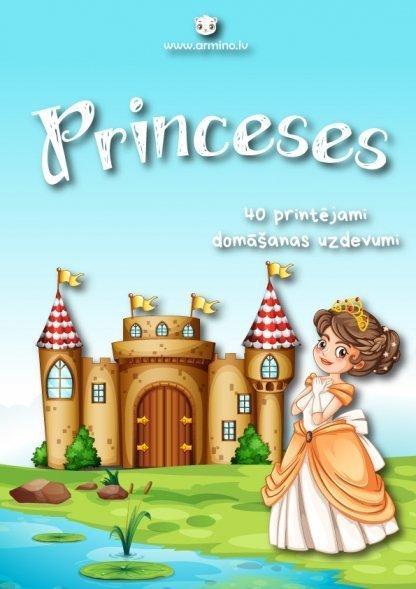 """Uzdevumi bērniem """"Princeses"""""""