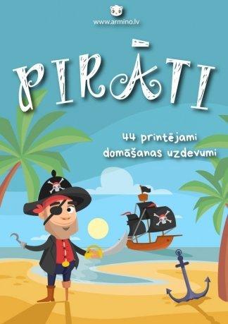 """Uzdevumi bērniem """"Pirāti"""""""