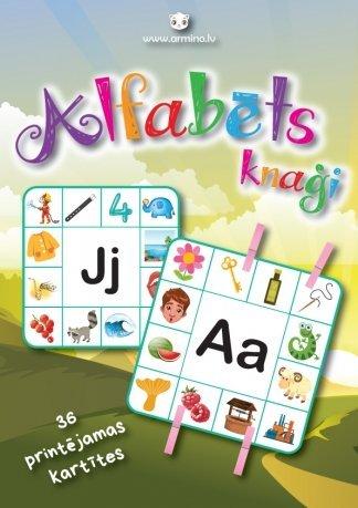 Printējami alfabēta rāmji knaģiem