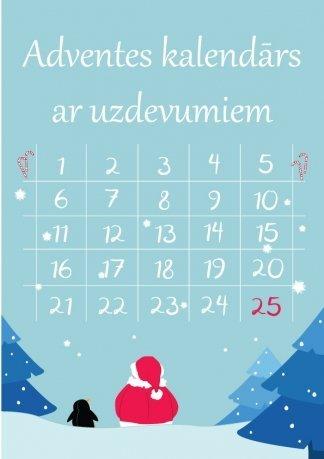 Printējamas adventes kalendāra uzdevumu kartītes