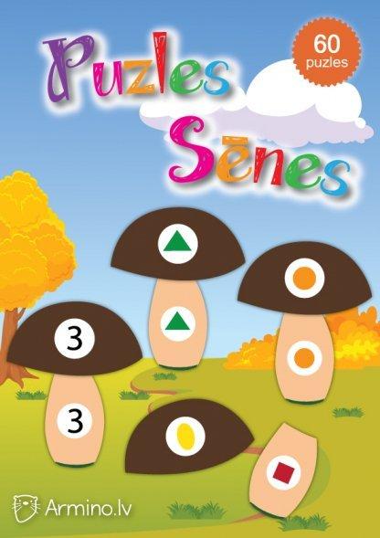 Sēnes didaktiskās spēles pirmsskolai